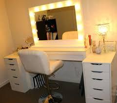 vanity mirror lights makeup with light bulbs ikea