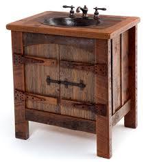 Reclaimed Wood Vanity Rustic Bath Cabinetry