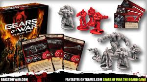 Gears Of War The Board Game Miniatures