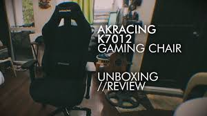 Akracing Gaming Chair Philippines by So I Bought An Akracing K7012 Gaming Chair