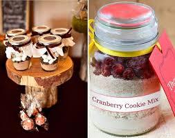 Edible Mason Jar Fall Wedding Favor Ideas 2014