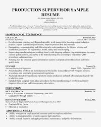 Shift Supervisor Resume Sample My Cover Letter For A Supervisory Position Oyulaw Achievable But Production
