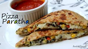 Pizza Paratha Recipe Indian Veg Brunch Breakfast Recipes And Kids Lunch Box Snack Idea Hammametnow