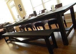 Extra Long Farmhouse Dining Table 192500 Via Etsy