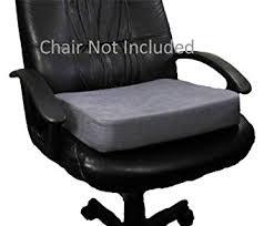 Tempurpedic Desk Chair Amazon by Amazon Com Extra Thick Memory Foam Dual Layer Seat Cushion Pad