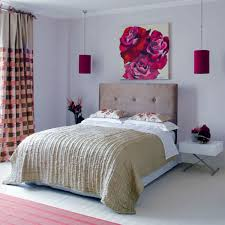 Just One Piece Of Fabric On Your Small Bedroom Wall Instead Adorning Bed Can Make Room Look Quirky And Bright Try Hangings To