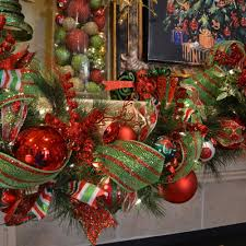 Decorating With Mesh Ribbon Ideas Inspirational DY 52 Christmas Mantles DYZ Of