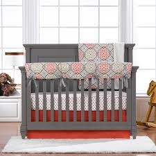 Coral Colored Bedding by White Solid Color Crib Bedding Nice Solid Color Crib Bedding