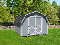8x12 Storage Shed Kit by Little Cottage Co Classic Gambrel Barn Kit 8x10 Sheds Com