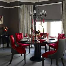 Crate And Barrel Pullman Dining Room Chairs by 20 Refined Gothic Kitchen And Dining Room Designs Black Round