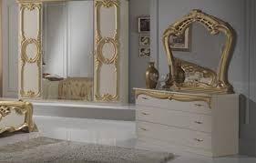 cristina klassische schlafzimmer kommode creme gold