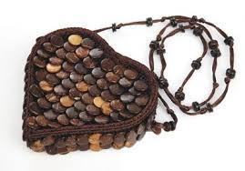 Get Quotations Lemontree Handicraft Coconut Shell Bag Bohemian Shoulder Bags