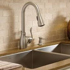 Moen Kiran Pull Down Faucet by Elements Of Design Es1241pl Wall Mounted Kitchen Faucet Wall