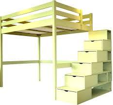 bureau superposé lit superpose deux places lit mezzanine 2 places avec bureau