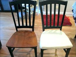 Dining Room Seat Cushions Kitchen Chair Covers With Arms In Within Table Cleaning