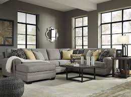 chaise pc cresson pewter 4 pc laf chaise sectional 54907 16 34 77 56