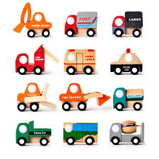 100 Japanese Mini Trucks Wholesale 2019 Vehicles Toy Multi Pattern Creative Wooden Car Model Baby