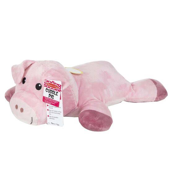 Melissa & Doug Cuddle Pig Plush