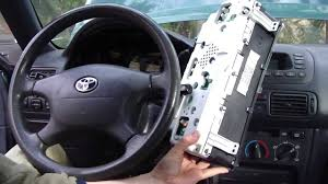 how to change dashboard lights toyota corolla year model 1996