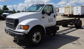 2001 Ford F650 Super Duty Truck Cab And Chassis | Item DD651...