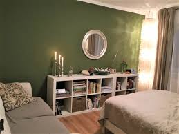 ein schlafzimmer im grünen kleid raumkonzepte