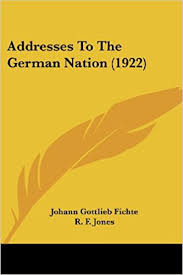 Addresses To The German Nation 1922