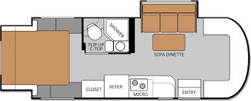 Itasca Class C Rv Floor Plans by 2013 Siesta Sprinter Motorhomes Class C Rv By Thor Motor Coach