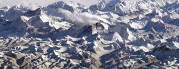mountain ranges of himalayas himalayas and mt everest greatest peaks maps for the classroom