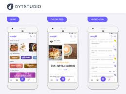 Android UI UX App Design Android XML Layout by dytstudio on