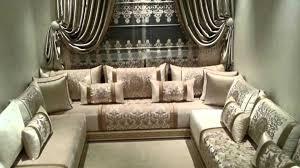 salon marocain moderne et simple photos inspirations avec canape
