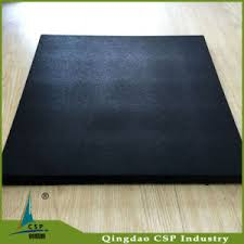 china colorful floor rubber floor tiles with 20mm thickness
