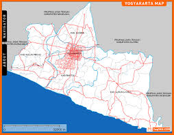 Interactive City Map Of Yogyakarta