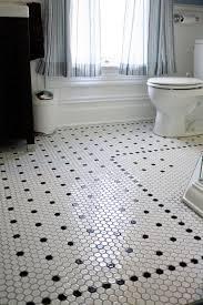 style spotlight hexagon mosaic floor tile a classic look