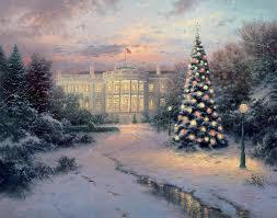 Thomas Kinkade Christmas Tree Cottage by Christmas Central Coast Showcase Galleries