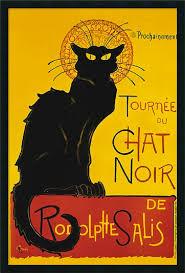 Le Chat Noir Famous Poster