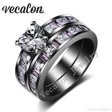 14k Gold Square Cushion Diamond Halo Engagement Ring French Pave Set