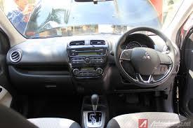 Mitsubishi Mirage Facelift Interior