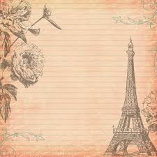 Free Parisian Digital Scrapbooking Paper