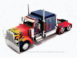 100 Optimus Prime Truck Model Western Star FREE SHIPPING Works Direct