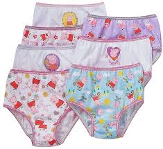 Peppa Pig With Stars Pumpkin Stencil by Amazon Com Peppa Pig Little Girls Panties 7 Pair Of Underwear
