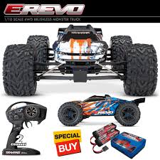Traxxas 1/10 E-Revo VXL 2.0 4WD Brushless Monster Truck RTR Orng W ... Traxxas Stampede Rtr Monster Truck Ckroll No Battycharger Erevo Vxl 20 4wd Electric Green By Rc Toys Skully Unboxing Walk Around And Test Bigfoot Review Big Squid Car Its Hugh The Xmaxx From 110 Helilandcom Traxxas 360841 Bigfoot W Xl55 Firestone Tour Wheels Water Engines Bts Uerground Team Rcmart To Roll Into Kelowna Salmon Arm Obsver Of The Week 9222012 Truck Stop 2wd Scale Silver Cars Trucks
