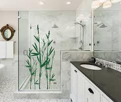 wandtattoo asien bambus badezimmer duschkabine wandaufkleber wallart deko wa112b