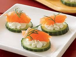 canapes recipes northwest salmon canapés recipe myrecipes