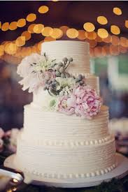 Rustic Vintage Chic Wedding Cake Inspiration