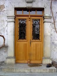 porte entree vantaux porte d entrée sur mesure laurentin