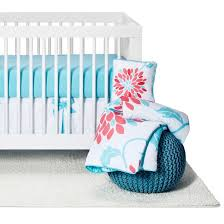Aqua And Coral Crib Bedding by Coral Crib Bedding Target