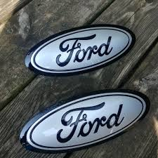 2015-17 Ford F150 GRILL & TAILGATE Emblem (2) CUSTOM INGOT SILVER ... How To Make A Ford Belt Buckle 7 Steps 2018 New 2004 2014 F 150 Usa Flag Front Grille Or Rear Tailgate F1blemordf2tailgatecameraf350 Vintage Truck Hood Emblem 1960 1966 Badge F100 Hotrod Ebay Mustang Blue Chrome 408 Stroker 4 Engine Size 52017 F150 Platinum 5 Inch Oem New 19982011 Crown Victoria Trunk Lid Oval Grletailgate Billet Gloss Black Tow Hook 2 Hitch Cover Red Led Light Up