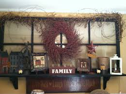 in this video of primitive country decorating ideas we take a