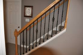 Trendy Iron Stair Balusters Design | Latest Door & Stair Design Stalling Banister Carkajanscom Banister Spindle Replacement Replacing Wooden Stair Balusters Model Staircase Spindles For How To Replace Pating The Stair Stairs Astounding Wrought Iron Unique White Back Best 25 Black Ideas On Pinterest Painted Showroom Saturn Stop The Uks Ideas Top Latest Door Design Decorations Outdoor Railing Indoor Remodelaholic Renovation Using Existing Newel Fresh Rail And