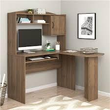ameriwood furniture l shaped desk with hutch rustic oak